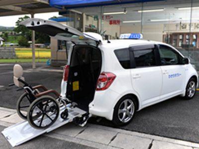 福祉タクシー稼働増加↑
