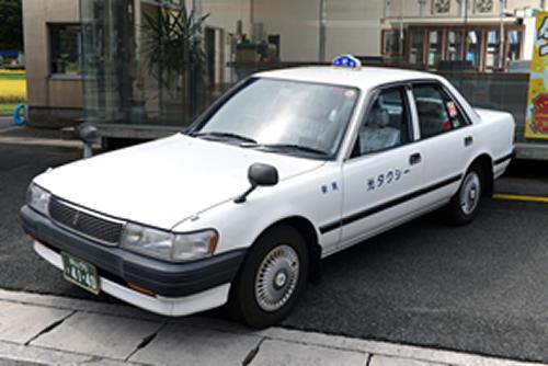 小型タクシー(2WD)